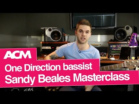 Session Musician Masterclass with One Direction bassist Sandy Beales