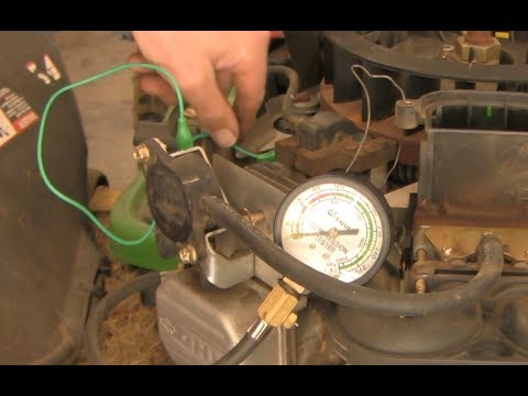 How to diagnose and repair a John Deere mower with blue smoke and no power - part I