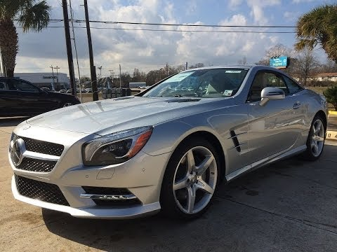 Charming 2014 Mercedes Benz SL550 Roadster Startup, Exhaust, Test Drive And In Depth  Review