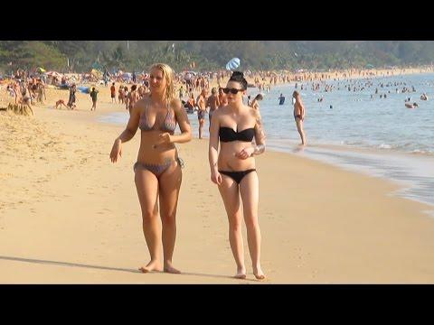 Karon Beach Phuket Thailand Пляж Карон
