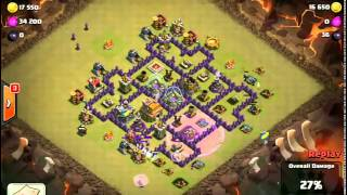 Clash of Clans -- Hero and the Goat -- JTJ's war vs Team China""