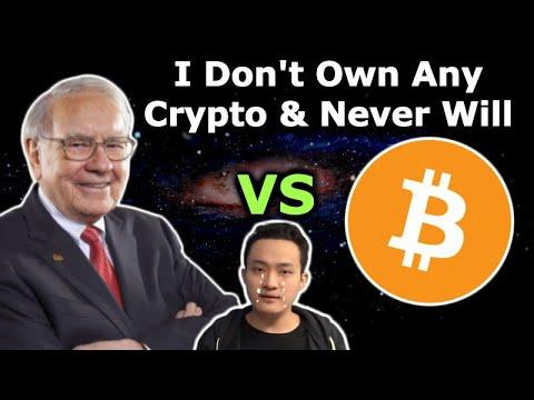 WARREN BUFFETT VS BITCOIN - Crypto Bank Avanti Wyoming - US Government Meeting To Talk Crypto
