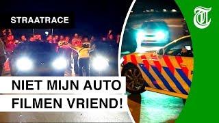Politie grijpt in bij straatrace - STRAATRACE #02