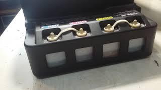 Epson L120 Принтер жоқ басады дербес қызмет көрсету және жөндеу