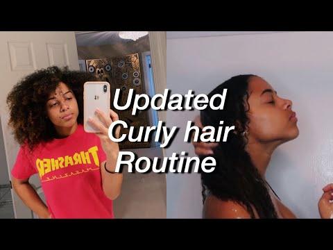 2018 Updated Curly Hair Routine   Azlia Williams