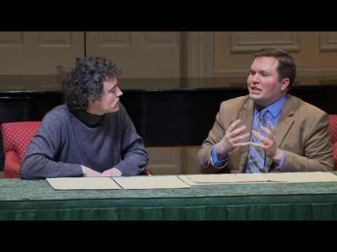 Artist Encounters: Paul Lewis, Pianist