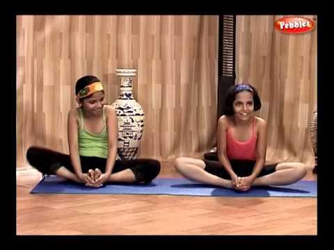07 yoga for children  titli asan  butterfly asan