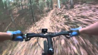 Fall Freeride on Super D course at Dark Mtn.
