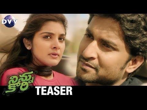Ninnu Kori Telugu Movie Teaser | Nani | Aadhi Pinisetty | Nivetha Thomas | #NinnuKoriTeaser