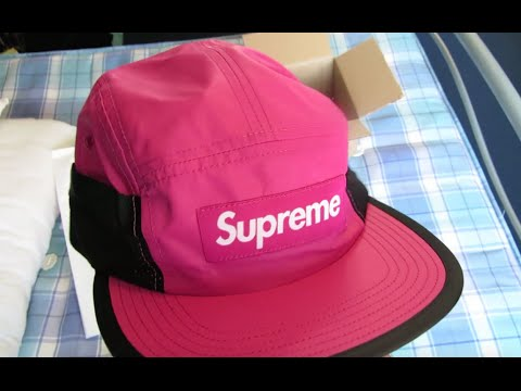 Supreme ~ Mesh Pocket Camp Cap Unboxing !! (SS16) - YouTube 683b6a2f356
