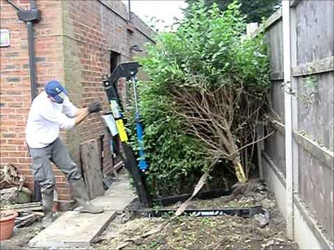 How To Remove Hedges Youtube