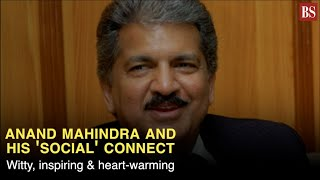 Anand Mahindra & his 'social' connect: Witty, inspiring & heart-warming