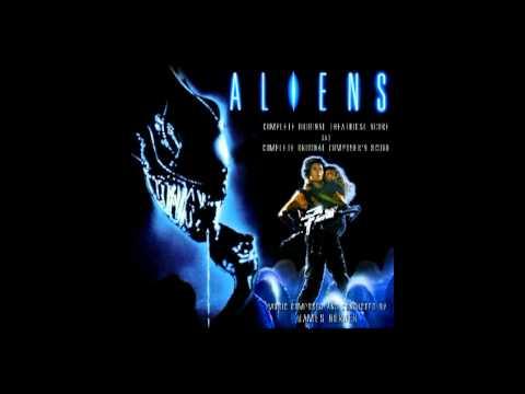 aliens score combat drop theatrical version landing preparations Harry Rabinowitz