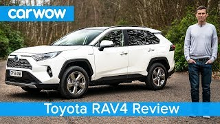 Toyota RAV4 SUV 2019 in-depth review | carwow Reviews