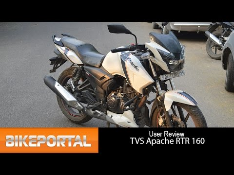 Tvs Apache Rtr 160 User Review Sporty Bike Bikeportal Youtube