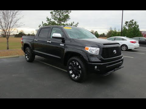 2016 Toyota Tundra Platinum Full Tour Amp Start Up At Massey