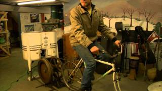 Bicycle Powered Washing Machine