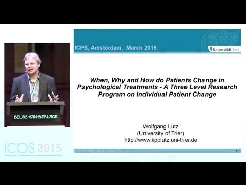 Integrative Science Symposium: Assessing Psychological Change