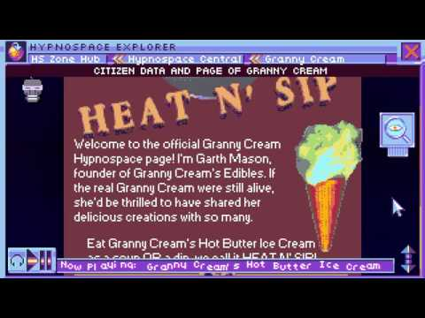 Granny Cream's Hot Butter Ice Cream – Hypnospace Outlaw Ad Jingle by Hot Dad