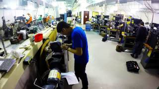 William States Lee College of Engineering machine shop time lapse