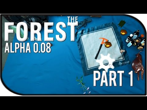 The Forest Gameplay Part 1 – Upgradeable Weapons, Stealth, and New Buildings! (0.08)