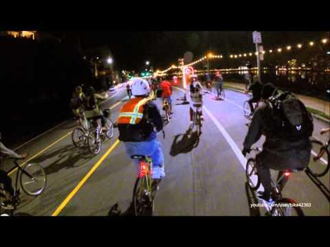 East Bay Bike Party Oakland Ride February 13, 2015