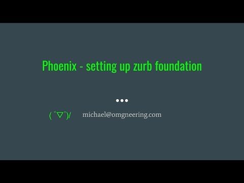 Elixir Phoenix - setting up zurb foundation