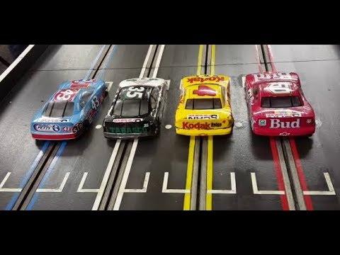 School Yard 400 B Final at Ecurie Barnton Slot Car Club (ActionCam)