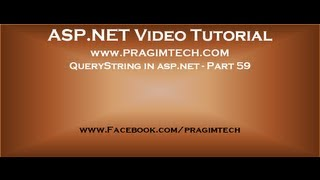 QueryString in asp.net   Part 59