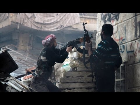 FSA Rebels Taking Hits From The Syrian Army