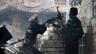 Repeat youtube video FSA Rebels Taking Hits From The Syrian Army