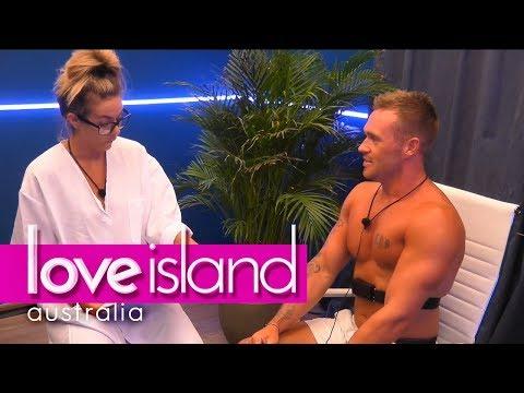 Eden's lie detector test ends in disaster | Love Island Australia 2018