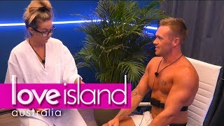 Eden's lie detector test ends in disaster | Love Island Australia 2018