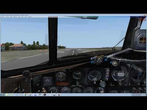[FSX] Tutorial - Navigating with the Bubble Sextant Gauge - Part 1