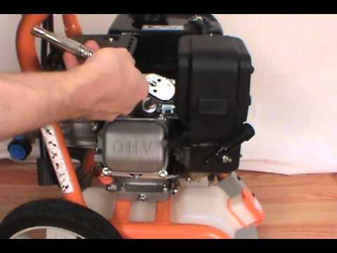 Changing the Spark Plug  Generac Pressure Washer  YouTube