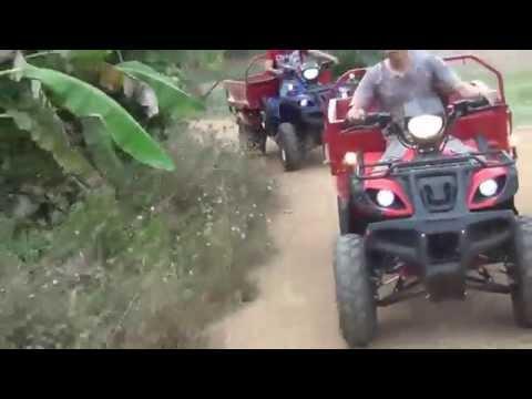 รถ ATV เอทีวี ใช้สำหรับ สวน ไร่ บรรทุกสิ่งของ