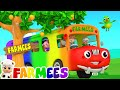 The Wheels On The Bus Go Round And Round   Song For Children   Rhymes For Kids by Farmees