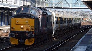(HD) Rail Operations Group 37800 Star wars tones and Mega thrash @ Ashford International 13/5/17