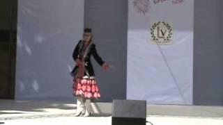 Башкирский танец(Исполнитель - я; Хореограф - Ляля Басманова (коллектив
