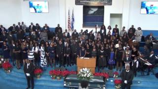 HPC choir at Rev Jean P Francois Homegoing Service