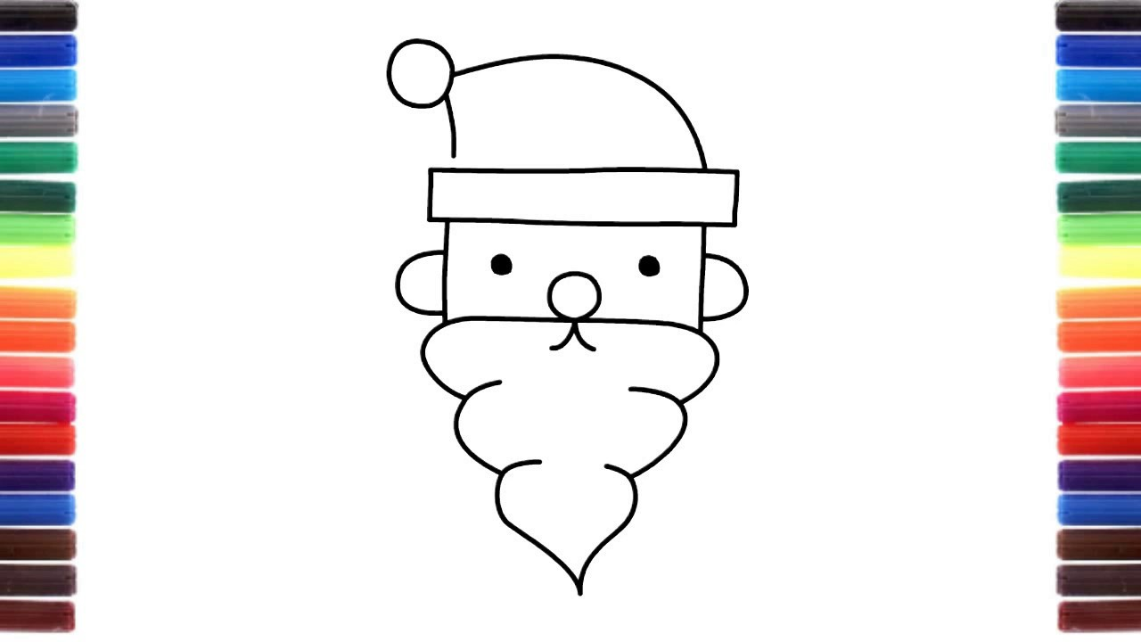 How To Draw Christmas Stuff.How To Draw Christmas Stuff Santa Claus Step By Step