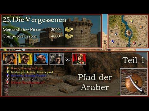 M25: Die Vergessenen - Teil 1 - Araber - Stronghold Crusader | Let's Play (German)