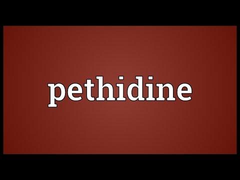 Header of pethidine