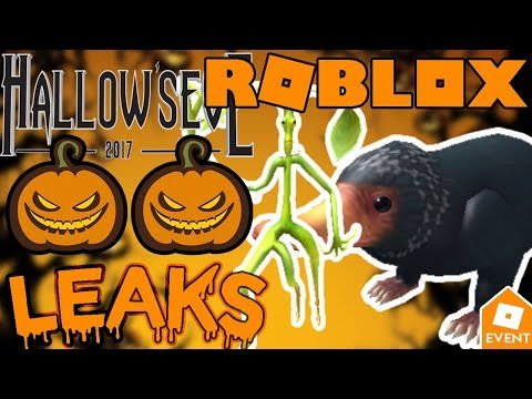 Roblox Event Items 2018 Leaked Leak Roblox New Hallow Eve Sponsor Event Items Leaks And Prediction Youtube