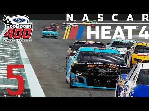 Travis Kvapil Sends Me Over The Edge | NASCAR Heat 4 Livestream #5 Highlights |