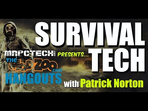 SURVIVAL TECH for the APOCALYPSE with Patrick Norton