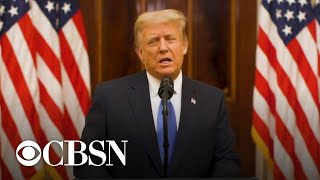Trump releases farewell address touting achievements