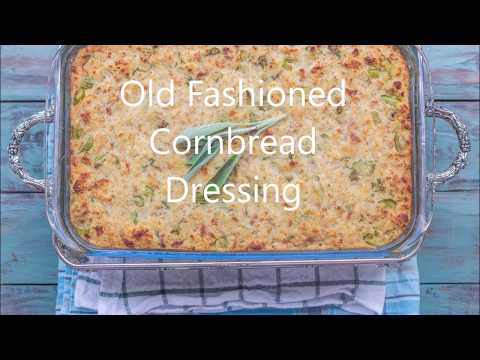 Old Fashioned Cornbread Dressing