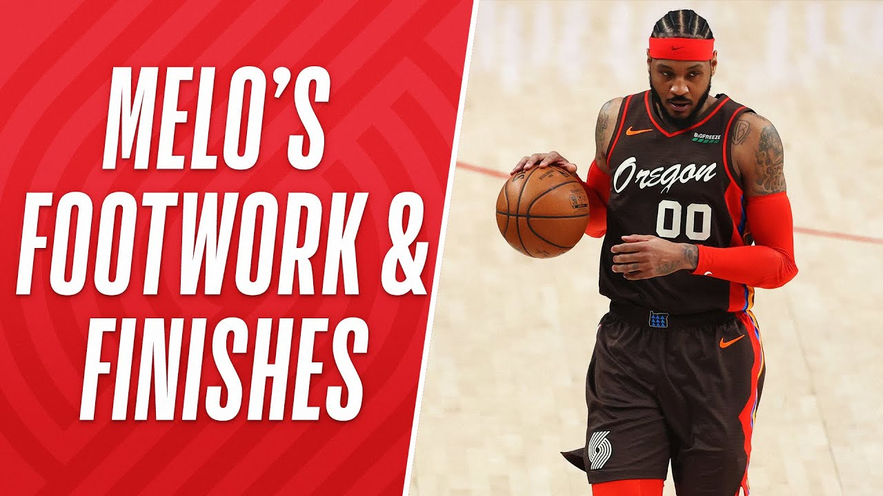 Download Best of Melo's Footwork & Finishes This Season! 🔥