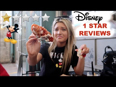Eating at the worst reviewed restaurant in Disney World